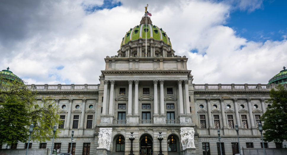 January 2017 Chamber Update Banner Image of PA Capitol