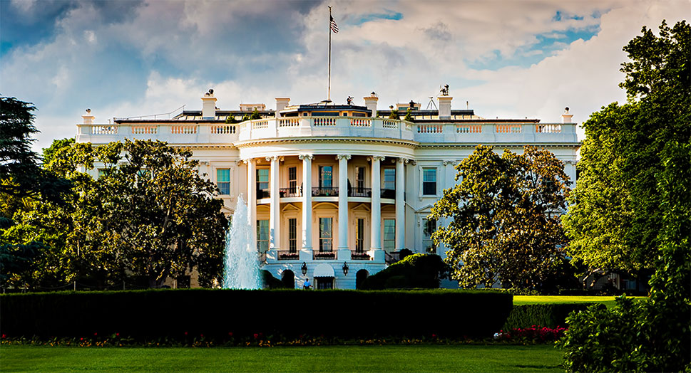 January 2017 Chamber Update Banner Image of White House