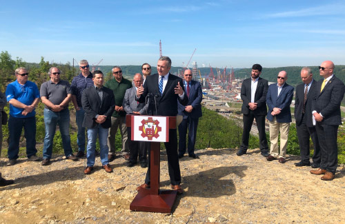 House Speaker Turzai joins state Rep. Josh Kail, other officials to tout GOP energy plan