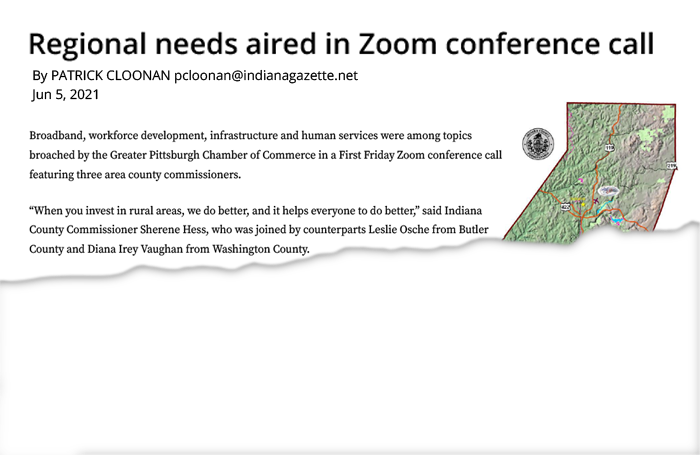 Regional needs aired in Zoom conference call
